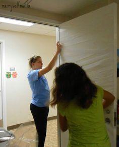 Me, Myself, Malia: Mummy Door DIY!