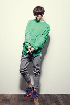 Korea Model모델 / Idol아이돌: 安宰賢 - 2013 lecoqsportif