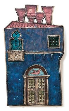 View Untitled by Rut Bryk on artnet. Browse upcoming and past auction lots by Rut Bryk. Pottery Houses, Ceramic Houses, Sculpture Clay, Sculptures, Gaudi, Define Art, Clay People, Pottery Classes, Handmade Christmas Gifts