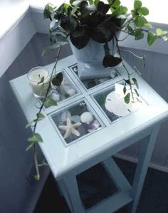 small curio table