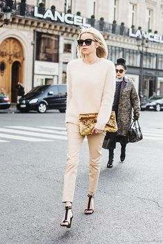 Fabulous neutrals. Paris. #DressingwithBarbie