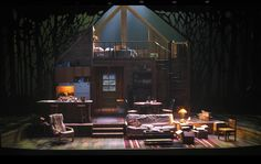 In a Forest Dark and Deep. Contemporary American Theater Festival. Scenic design by David M. Barber. 2012