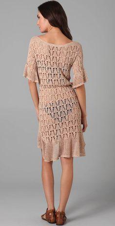 Crinochet: Easy e Vestido Creme Bonito