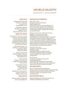 Resume Headings Really Like This Simple Header For Resume Design Resumerachel