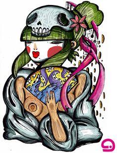 La geisha (芸者?) o gheiscia è una tradizionale artista e intrattenitrice giapponese, le cui abilità includono varie arti, quali la musica, il canto e la danza. Le geisha erano molto comuni tra il XVIII e il XIX secolo, ed esistono tutt'oggi, benché il loro numero stia man mano diminuendo. Nel mondo moderno e soprattutto in Occidente vengono erroneamente considerate come prostitute.