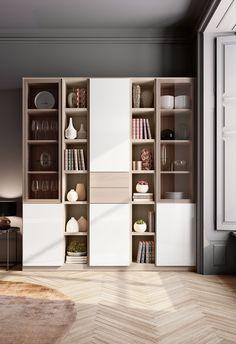 Small Office Design, Office Interior Design, Home Office Decor, Office Interiors, Home Decor, Sideboard Furniture, Table Furniture, Furniture Design, Bedroom Closet Design
