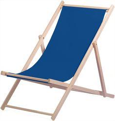 Günstiger Liegestuhl mit Naturholz Gestell dunkelblauer Stoff Outdoor Furniture, Outdoor Decor, Sun Lounger, Home Decor, Director's Chair, Pool Chairs, Armchairs, Dark Teal, Balcony