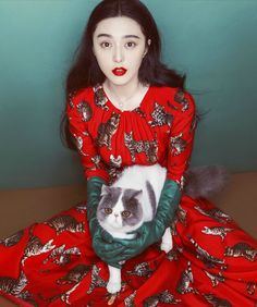 World Country Magazines: Actress, Singer @ Fan Bingbing - Chen Man Photoshoot for Elle China August 2016