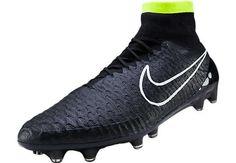Nike Magista Obra FG Soccer Cleats - Black