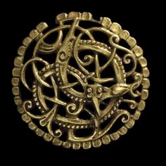 The Pitney Brooch, a piece of Viking jewellery found in Somerset, England