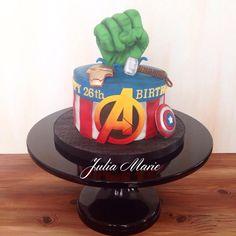 Avengers Cake - Cake by Julia Marie Cakes