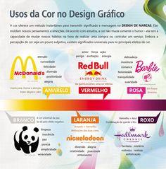 Infográfico - Usos da Cor no Design de Marcas on Behance