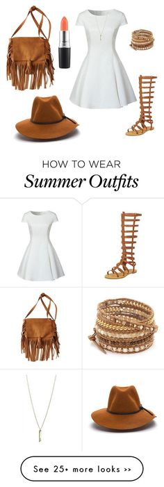 Gladiators summer outfit by nisalphabet on Polyvore