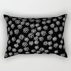 Daisy Rectangular Pillow by siobhaniaa Daisy, Throw Pillows, Toss Pillows, Cushions, Margarita Flower, Daisies, Decorative Pillows, Decor Pillows, Scatter Cushions