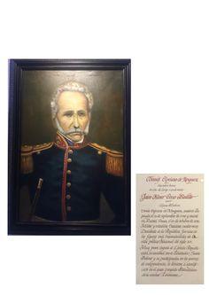 Óleo a Tomás Cipriano de Mosquera en Casa Museo Batallón No. 14 de Infantería - Quinta Brigada del Ejército de Colombia