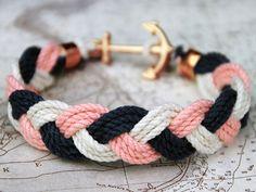 Anchor bracelet.                                                                                                                                                     More