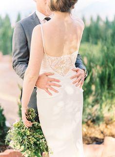 Colorado wedding photographer: Lisa O'Dwyer Colorado wedding planner: Events 306 Colorado Floral Designer: A Florae #coloradowedding #estesparkwedding #coloradofilmweddingphotographer #greenbouquet #nicolemillerbridal @annaRead More on SMP: http://www.stylemepretty.com/colorado-weddings/estes-park/2016/02/16/timeless-wedding-in-estes-park-colorado/