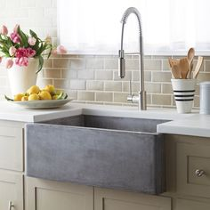 Fancy - Concrete Farmhouse Sink