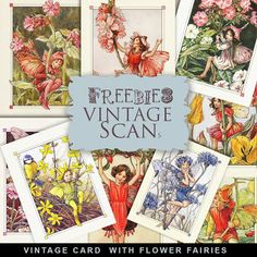 Far Far Hill - Free database of digital illustrations and papers: Freebies Vintage Card Kit