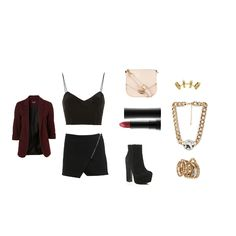 Here is a sexy little outfit for a night out after a hard day at work. If you're going out for cocktails with the girls, this is the perfect outfit for you! #outfit #inspiration #style