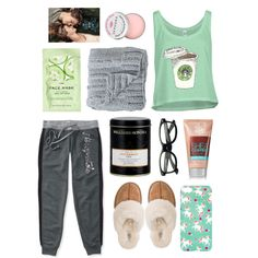Sick Day Essentials by maddypearl on Polyvore featuring polyvore, fashion, style, Aéropostale, UGG Australia, H&M, Sephora Collection, Bloomingville and Williams-Sonoma