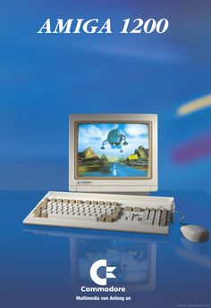 Computer Technology, Gaming Computer, Commodore Amiga 500, Amiga Forever, School Computers, Computer Workstation, Old Video, Computer Network, Hardware
