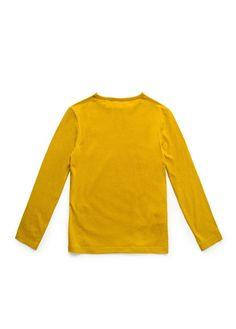T-shirt algodão manga comprida
