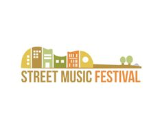 Street Music festival Logo design - This is a fun, illustrative logo design. I would suggest for festivals, music festivals,events, real estate companies. Price $500.00