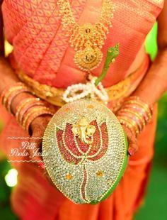 A telugu wedding is incomplete without this.....,kobbaribondam