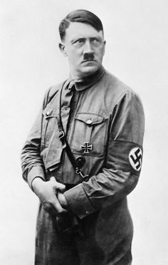 KARL ROVE in another life...as his IDOL Adolf Hitler, a formal portrait.