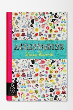 Cute and funny activity book of 16 pull-out ArtCards to color and decorate with over 600 stickers...because you're never too old for stickers.