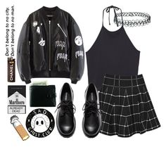 """""""halsey"""" by aaliviaa ❤ liked on Polyvore featuring Monki, Boohoo, H&M and Topshop"""