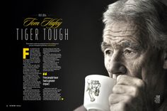 2014 AFL Record Round 9   Tom Hafey   Publication Spread