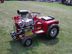 V8 Cub Cadet Tractor  One day I will build one of these!!!