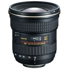 AF 12-24mm f/4 AT-X 124 Pro DX II Lens Starting at $450 (used)