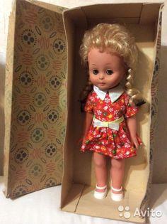 Кукла ГДР sonni Sonneberg 38 см , как новая в коробке. Сохранилась идеально, полностью резиновая.