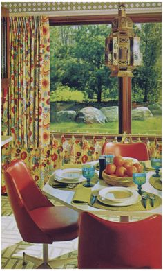 1960s Dining Area.
