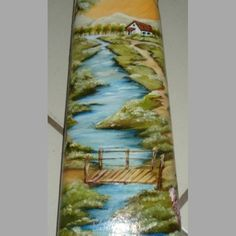 Roof Tiles, Bottle Art, Rose, Prints, Diy, Painting, Embroidery Hoop Crafts, Clay Tiles, Painting On Tiles