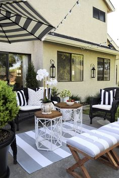 How do you make your patio an extension of your home? Home & Fabulous has you covered.