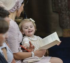 Princess Madeleine of Sweden's baby's christening - Photo 5 | Celebrity news in hellomagazine.com