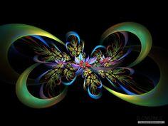 flower fractal art | ... flower-wallpaper/creative-fractal-art-wallpaper/1024x768/free