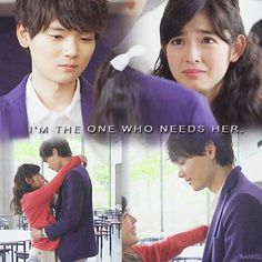 I'm the one who needs her. Kotoko and Naoki Irie in Mischevious Kiss (Itazura na Kiss ~ Love in Tokyo 2)