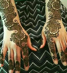 Beautiful and Easy Henna Arabic Mehndi Designs for every occasion - ArtsyCraftsy., Beautiful and Easy Henna Arabic Mehndi Designs for every occasion - ArtsyCraftsy. Henna Hand Designs, Dulhan Mehndi Designs, Mehendi, Mehndi Designs Finger, Latest Arabic Mehndi Designs, Mehndi Designs Book, Mehndi Designs For Beginners, Mehndi Design Photos, Mehndi Designs For Fingers