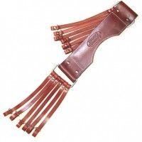 Double Reed Outdoors - Heavy Hauler ORIGINAL LEATHER GAME STRAP, $37.99 (http://www.doublereedoutdoors.com/heavy-hauler-original-leather-game-strap/)
