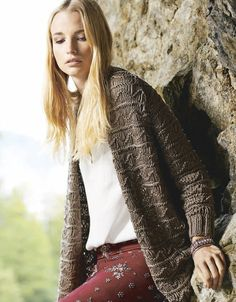 Lana Grossa LONGJACKE Cashsilk - LINEA PURA No. 7 - Modell 11 | FILATI.cc WebShop