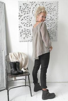 Paita FAIRYTALE, Khaki - Cotton - By Pia's Design