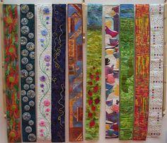 UK  Narrow banner quilts
