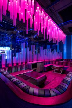 Parq Restaurant & Nightclub, Davis Ink - Restaurant & Bar Design