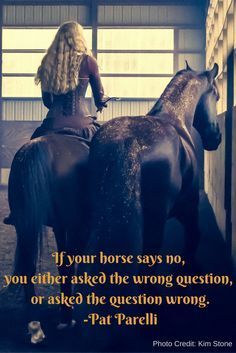 Don't like pat parelli but like this quote Equine Quotes, Equestrian Quotes, Equestrian Problems, Horse Love, Horse Girl, Yorkies, Inspirational Horse Quotes, Horse Riding Quotes, Funny Horses