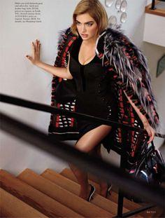 La edición de septiembre de ELLE US nos trae a Kate Upton en como covergirl y en un espectacular editorial
